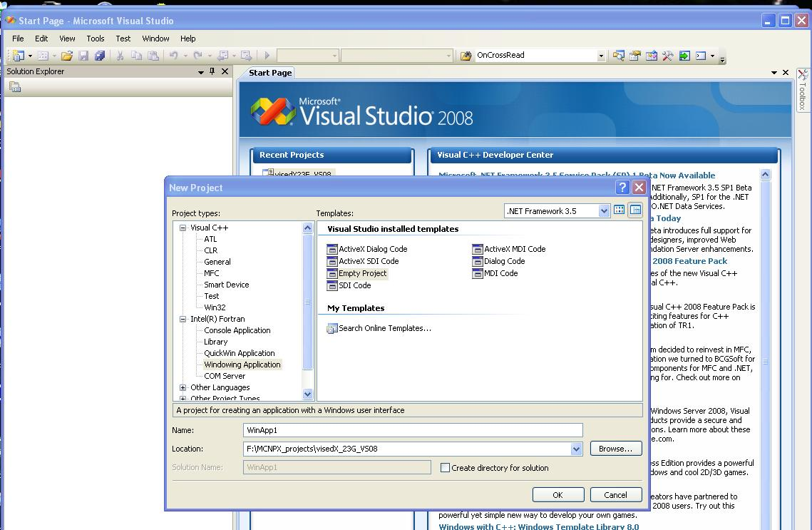 Converting to Visual Studio 2008 from Visual Studio Version 6 0 in a